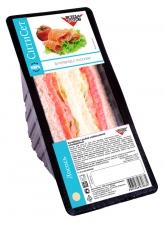 Бутерброд с лососем на белом  хлебе 125 г