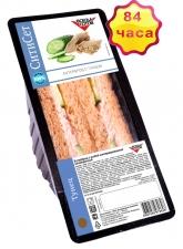 Бутерброд с тунцом на темном  хлебе 130 г