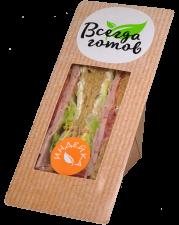Бутерброд с индейкой. Премиум. 150 г