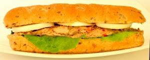 Сэндвич с тунцом и болгарским перцем 162 г