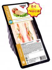 Бутерброд с куриным филе на белом хлебе 155 г